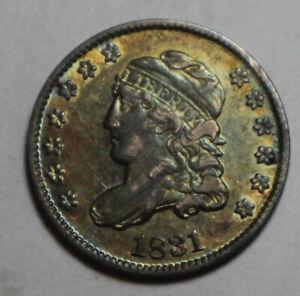 1831 Capped Bust Half Dime ZC31 Nice Tone