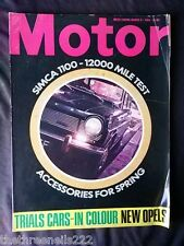 MOTOR MAGAZINE - SIMCA 1100 - MARCH 8 1969