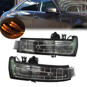 2X Zusatzblinker Spiegelblinker Links + rechts Für Mercedes W212 W221 W204 S212