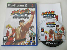 STREET FIGHTER ALPHA ANTHOLOGY - SONY PLAYSTATION 2 - JEU PS2 COMPLET