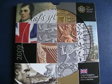 2009 Royal Mint UNC coin set (11 coins) Spink.US38 with Kew Gardens 50p
