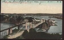 Postcard ST. JOHN N. B. CANADA Aerial View 1906?