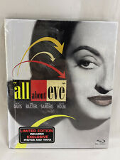 All About Eve Blu-ray (DigiBook Limited Edition) New Sealed