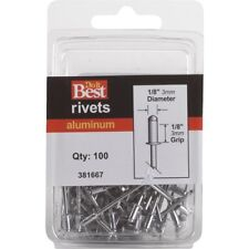 New listing 1/8x1/8 Aluminum Multigrip Pop Rivet