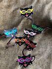 "Vintage Repro MOD Cat,7 Colors Cat Eye Glasses Halloween Decoration, 2 "" to 3"""