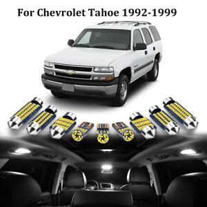 22x White Interior LED Light Bulb for 1992-1999 Chevy Tahoe Suburban GMC Yukon