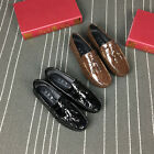 New Leather Slip On Mens Driving Moccasin Loafer Casual Recreational Shoes