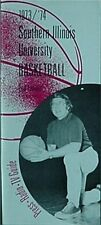 1973-74 Southern Illinois Salukis Basketball Media Guide