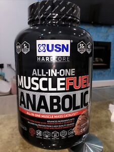 USN Muscle Fuel Anabolic All In One Lean Muscle 2kg - Chocolate Flavour