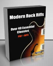 Modern Rock Riffs - PDF & MP3 Download