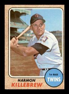 1968 Topps Set Break # 220 Harmon Killebrew NM *OBGcards*