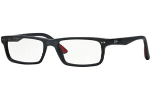 New Authentic Ray-Ban RX5277 2077 Sand Blasted Black Eyeglasses 54-17-140