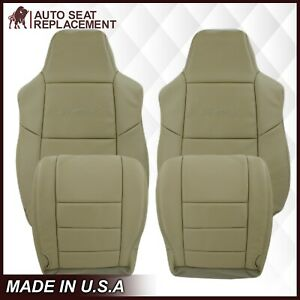 2002 2003 2004 2005 Ford Excursion Limited, XLT Leather Seat Cover in Tan