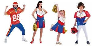 Cheerleader Kleid American Football Kostüm Uniform Trikot Girl Dress Ragby Helm