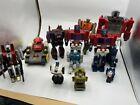 Transformers G1 Powermaster Optimus Prime Jazz Starscream Omega Road Buster Lot