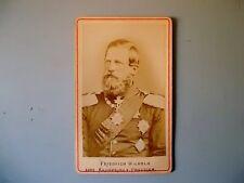 CDV Friedrich Wilhelm Kronprinz v. Preussen Kabinettfoto Militaria Adel