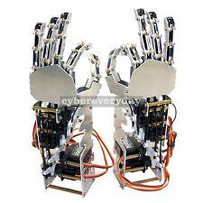 5DOF Humanoid Metal Manipulator Arm Left/Right Hand with Servos for Robot DIY