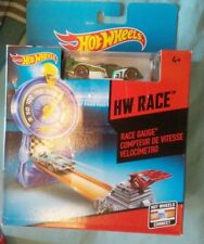 DIECAST HOT WHEELS MODEL CAR HW RACE GAUGE SPEED HW RACE