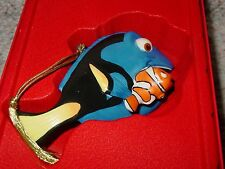 NEW LENOX FINDING DORY WITH NEMO CHRISTMAS ORNAMENT VERY COLORFUL