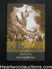 Ten Commandments by Angeline Hawkes (Signed)(Inscribed) (SOFTCOVER)- High Grade