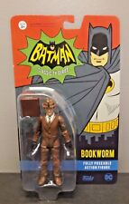 DC BATMAN CLASSIC TV SERIES BOOKWORM ACTION FIGURE NIP FUNKO ADAM WEST