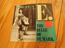SHEILA E. The Belle of St. Mark b/w Too Sexy WITH PICTURE SLEEVE Warner Brothers