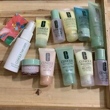 Clinique Skincare Makeup Lot Moisture Surge Clarifying Lotion Soap Lot Of 12