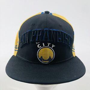 Hardwood Classics Golden State Warriors NBA Hat Size 7 3/4 New Era Basketball