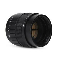 Black Fujian 35mm f/1.7 Closed Circuit TV Television Lens Camera Accessories