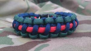 29 Commando Regiment Royal Artillery SSAFA Inspired Paracord 550 Bracelet