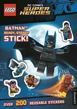 LEGO DC Comics Super Heroes - Batman Ready, Steady, Stick! (Sticker Activity Boo