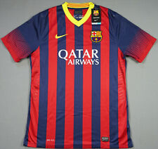 FC BARCELONA season 2013 2014 XL extra large Player Issue Vapor Home Brand New