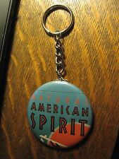American Spirit Cigarettes Advertisement Keychain Backpack Purse Clip Ornament