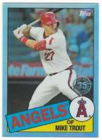 MIKE TROUT 2020 Topps Chrome 1985 Baseball Refractors #85TC-1 Angels  ID:5389
