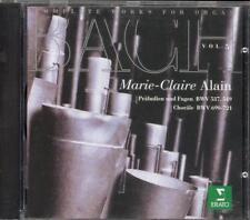 BACH - Organ Works - Volume 5 - Marie-Claire ALAIN - Erato