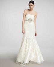 NWT SUE WONG W2121  Destination Wedding Dress Bridal gown formal Petal IVORY 6