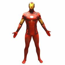 Official Iron Man Basic Morphsuit Fancy Dress Costume - size Xlarge - 5'10-6'1