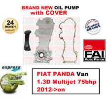 FOR FIAT PANDA Van 1.3D Multijet 75bhp 2012->on BRAND NEW FAI OIL PUMP + COVER