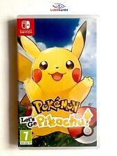 Pokemon Lets Go Pikachu Precintado Nintendo Switch Nuevo Estrenar 10/10 + Barato