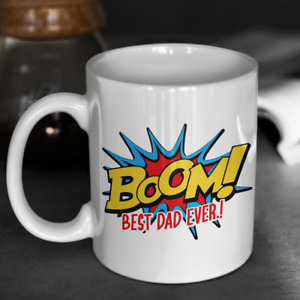 Best Dad Gift BOOM Best Dad Ever Gift Mug For Dad
