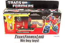 Optimus Prime w/box Powermasters 1988 Vintage Hasbro G1 Transformers