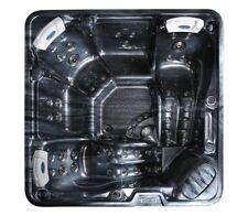 32 amp Hot Tub Plug & Play Bluetooth 5 Person USA Balboa Black New 2021 Pluto