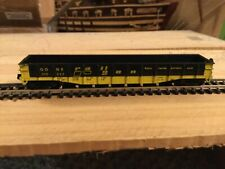 N Scale Con-Cor 50' fixed end gondola GONX RAILGON mtl couplers