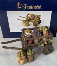 "Fontanini Nativity ~ Fig Cart #54319 ~ For 5"" Nativity Village In Box"