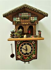 Rare Antique Toggili Cuckoo Clock Gebrauchsanweisung with dancers