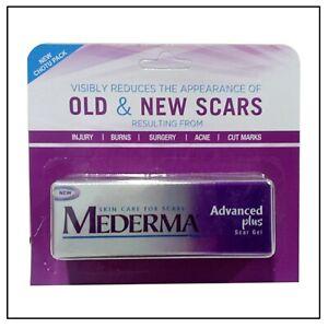Mederma New Advanced Plus Scar Gel  5g 10g reduces new & old scars Stretch Marks