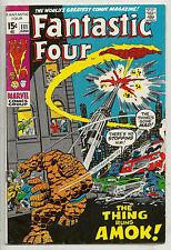 Fantastic Four  #111   F/VF