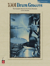 """""""1001 DRUM GROOVES"""" INSTRUCTIONAL MUSIC BOOK FOR ALL STYLES-METHOD-NEW ON SALE!!"""