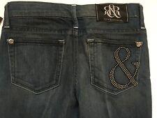 NWT Rock & Republic Berlin Lowrise Skinny Jeans Ampersand Pocket Jr Tween Sz 25