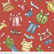 On the Road Sibling Arts Studio Penny Rose Fabrics 100% Cotton Fabric C5152 Red